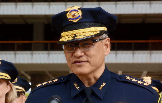 6. Did you know that this is really Honolulu's Police Chief?