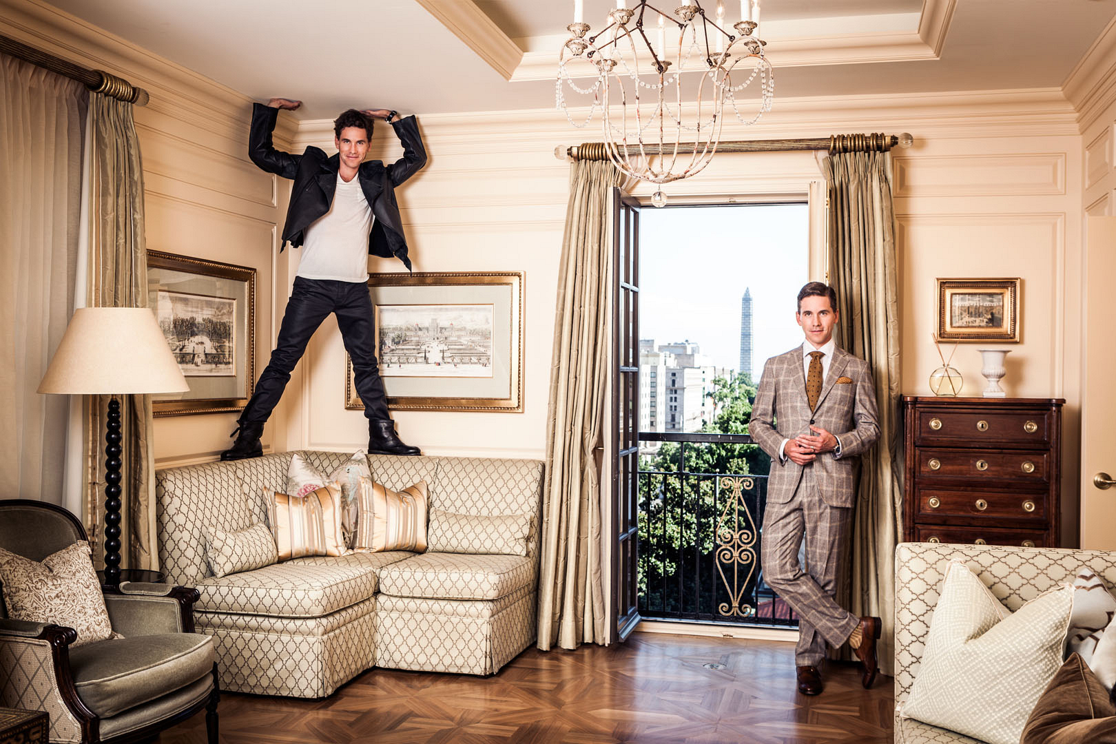 Brian Dietzen raises this roof in these incredible photos
