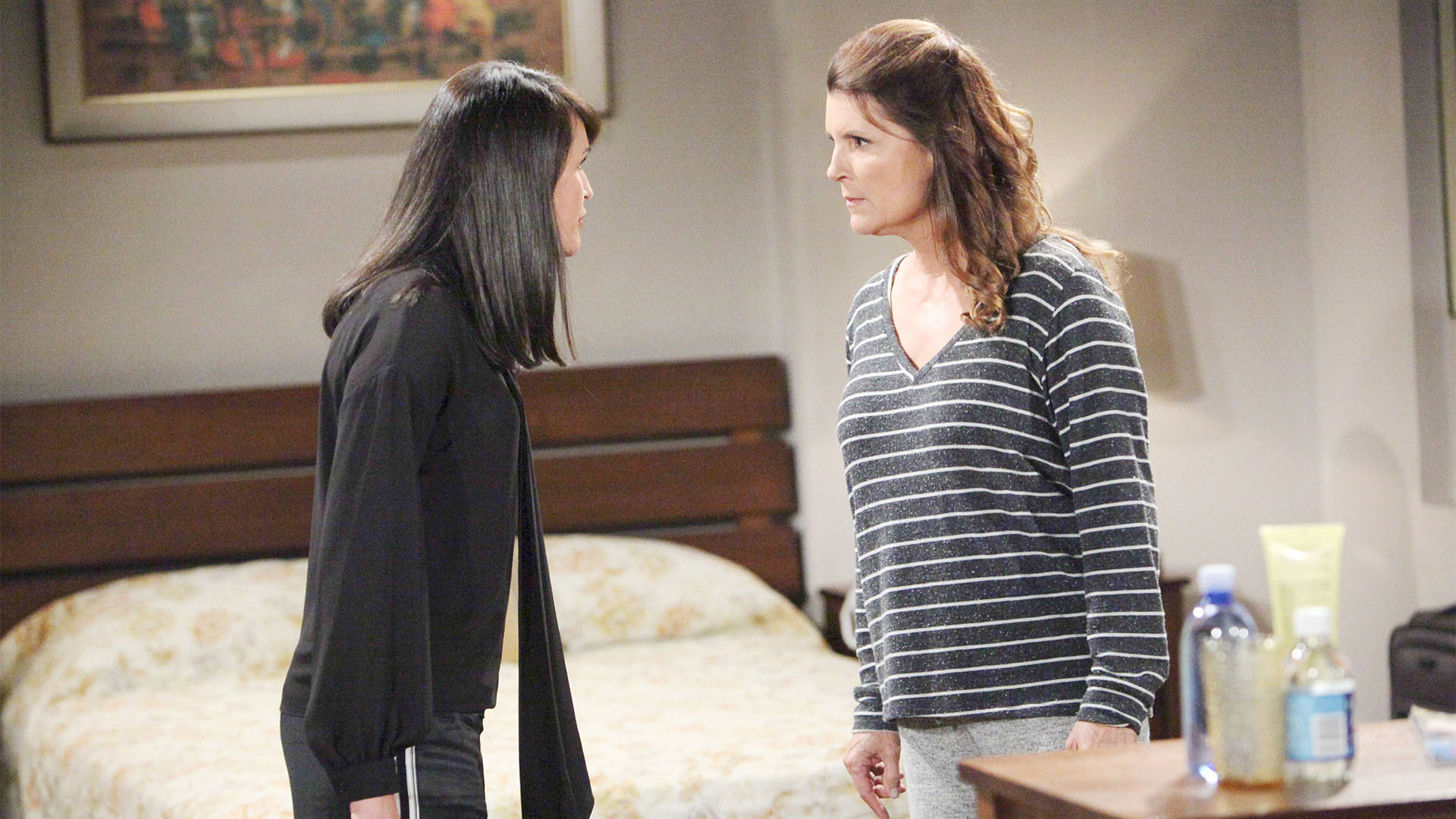 Unable to help themselves, Quinn's visit to Sheila turns into a no-holds barred catfight.