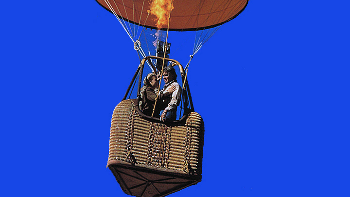 Eric Forrester whisked Brooke Logan away for a romantic hot air balloon ride in 1991.