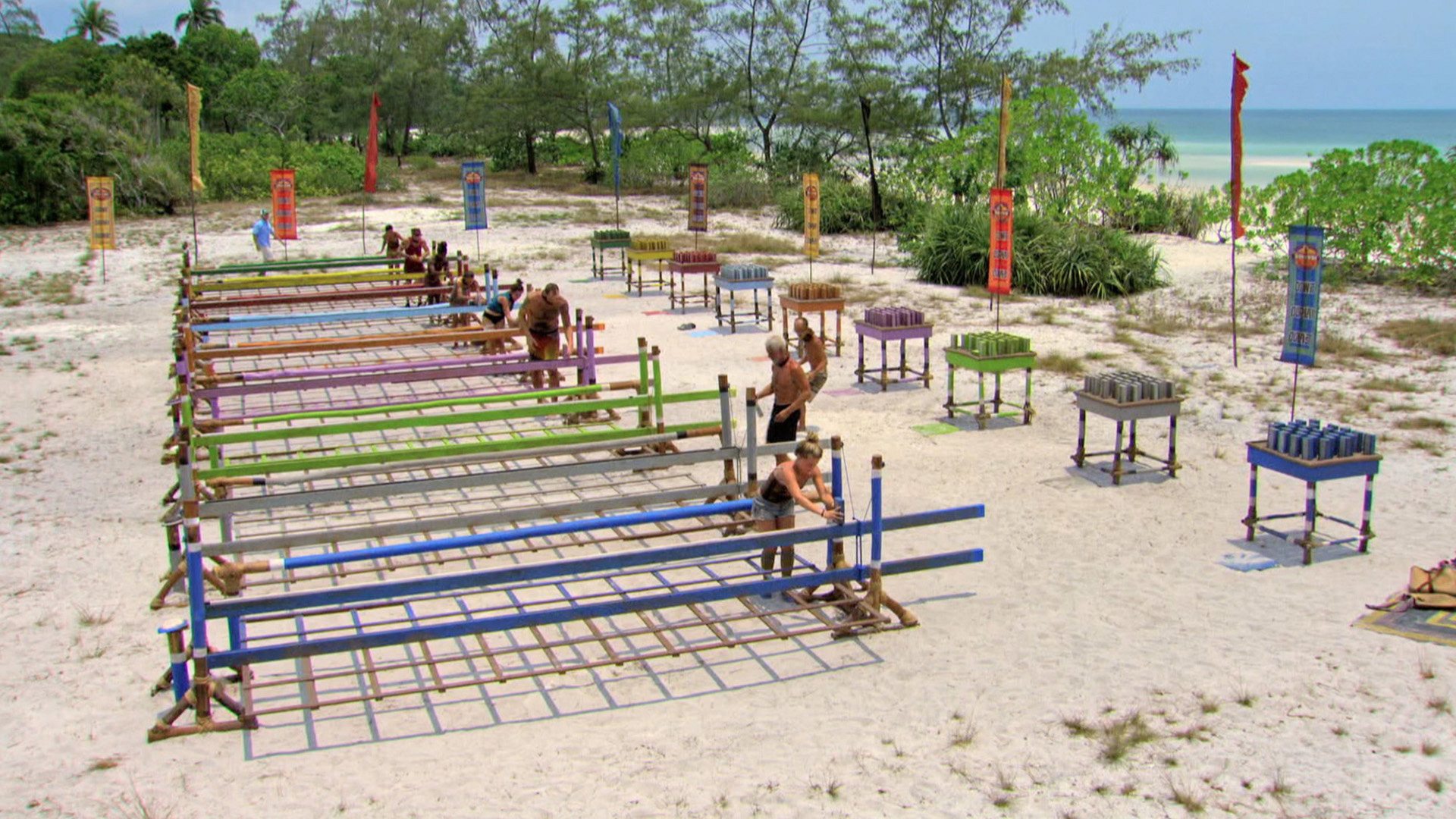 Castaways fall like dominos while they fight for Individual Immunity.