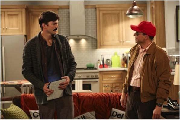 2. Ashton Kutcher's emergency mustache