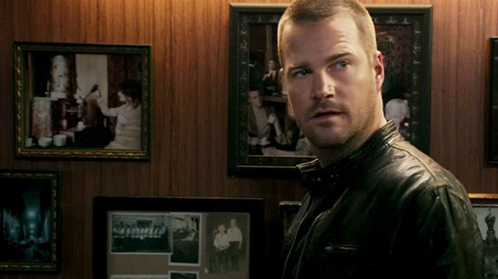 The Russian cafe might have a photo of Callen's father on the wall.