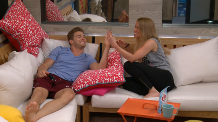 3. She thought Clelli's showmance was super cute.