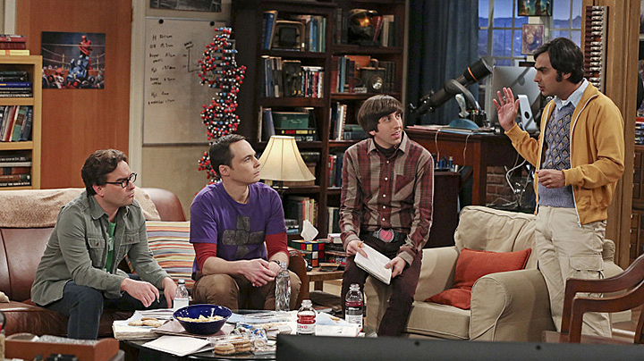 Planning the perfect date? Leonard, Sheldon, Wolowitz and Raj can collaborate.