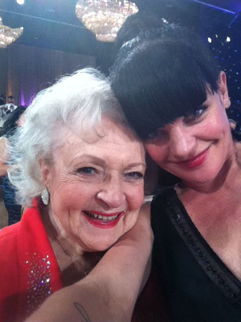Pauley & Betty White