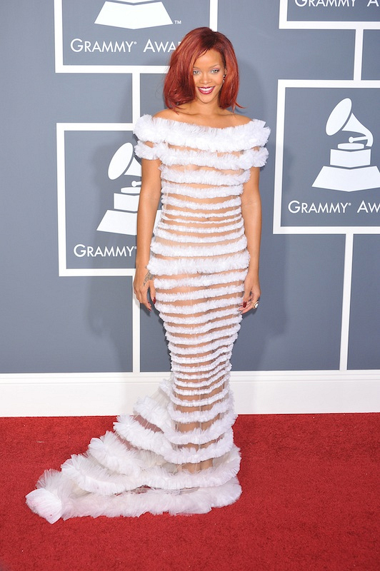 First of all, Rihanna owns the red carpet.