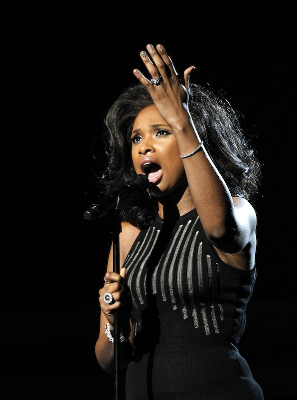 The time Jennifer Hudson paid tribute to Whitney Houston