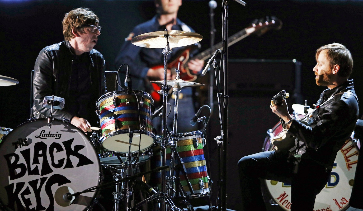 The time the Black Keys had a rock/jazz jam fest