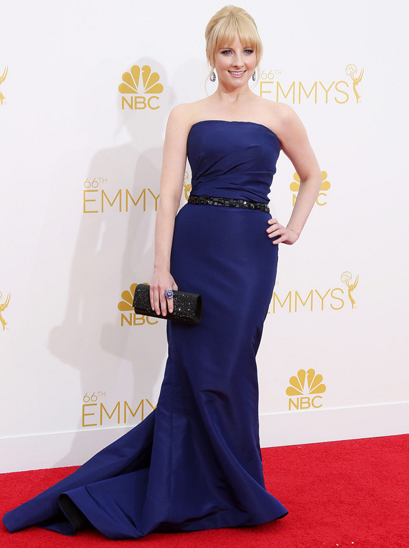 9. The red carpet is no match for Melissa