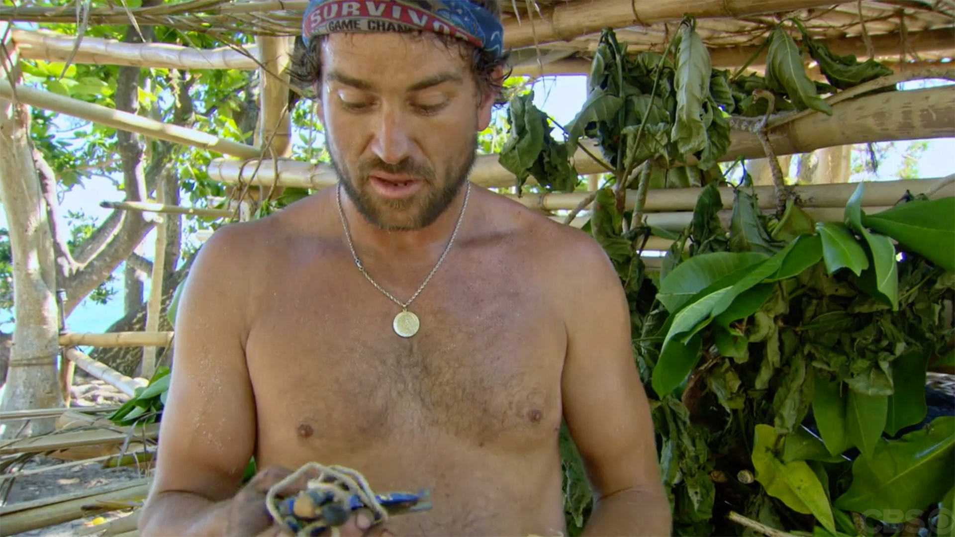 J.T. Thomas' hidden Immunity Idol from Survivor: Game Changers