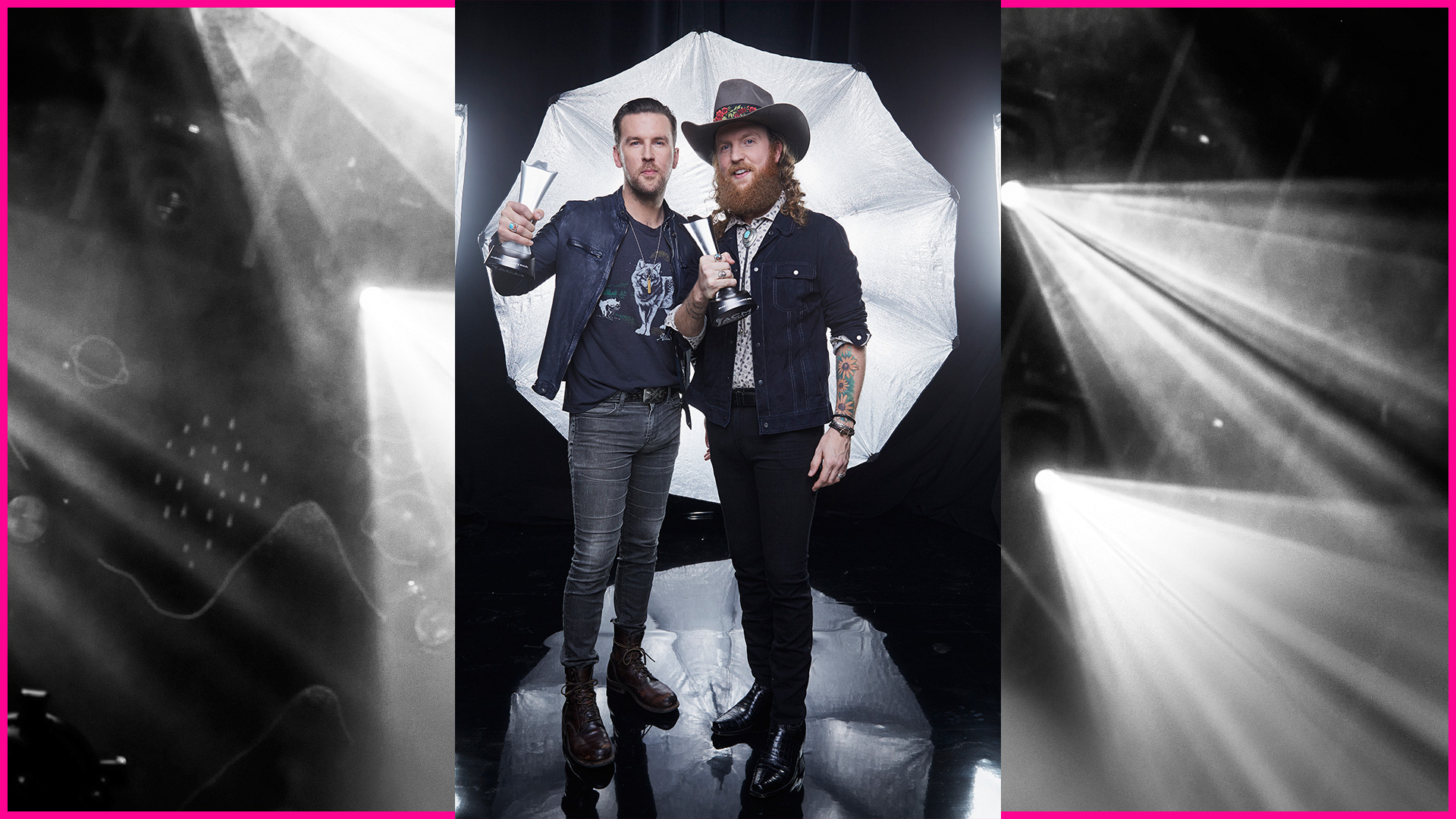 Brothers Osborne took home trophies in two categories at the 52nd ACM Awards.