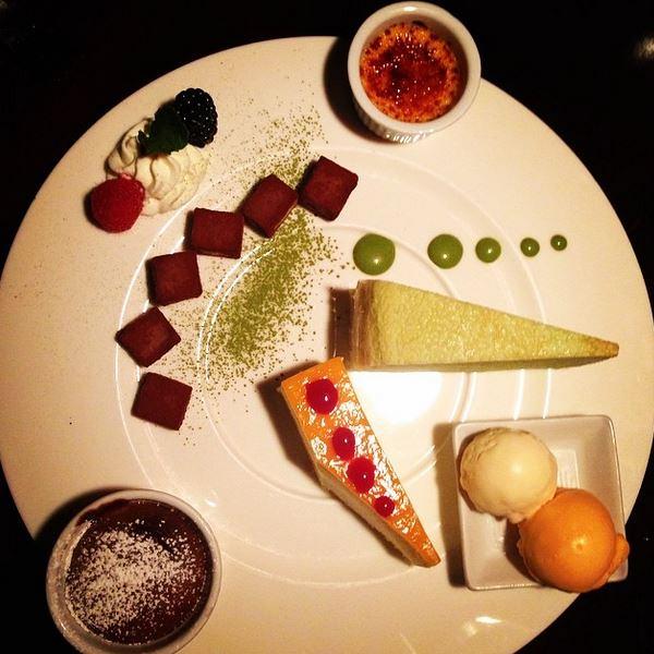 80. Dessert Platter from Megu