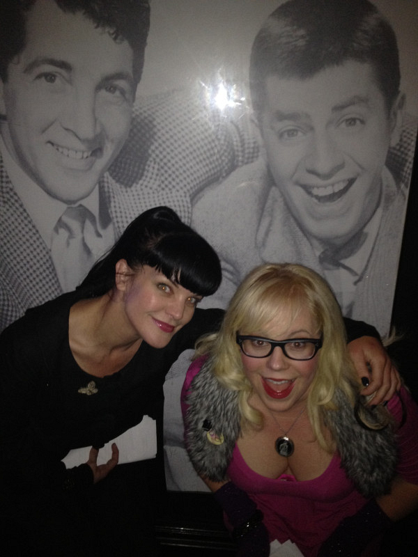 Pauley Perrette and Kirsten Vangsness