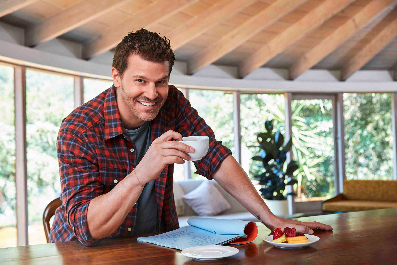 David Boreanaz is definitely our cup of tea