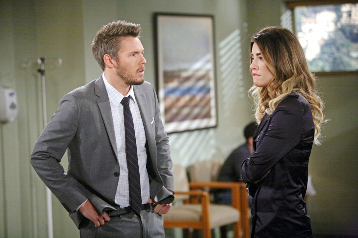 Liam criticizes Steffy.