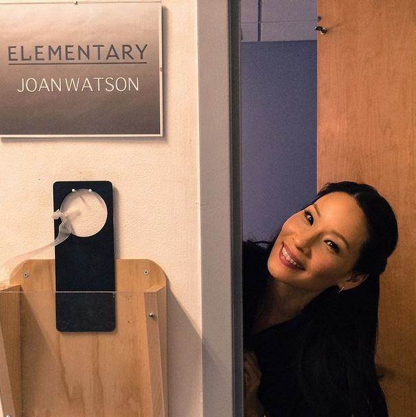 Elementary Instagram: This is a #JoanWatson area ONLY!