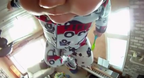 4. Have 911 on stand-by whenever dad babysits (GoPro)