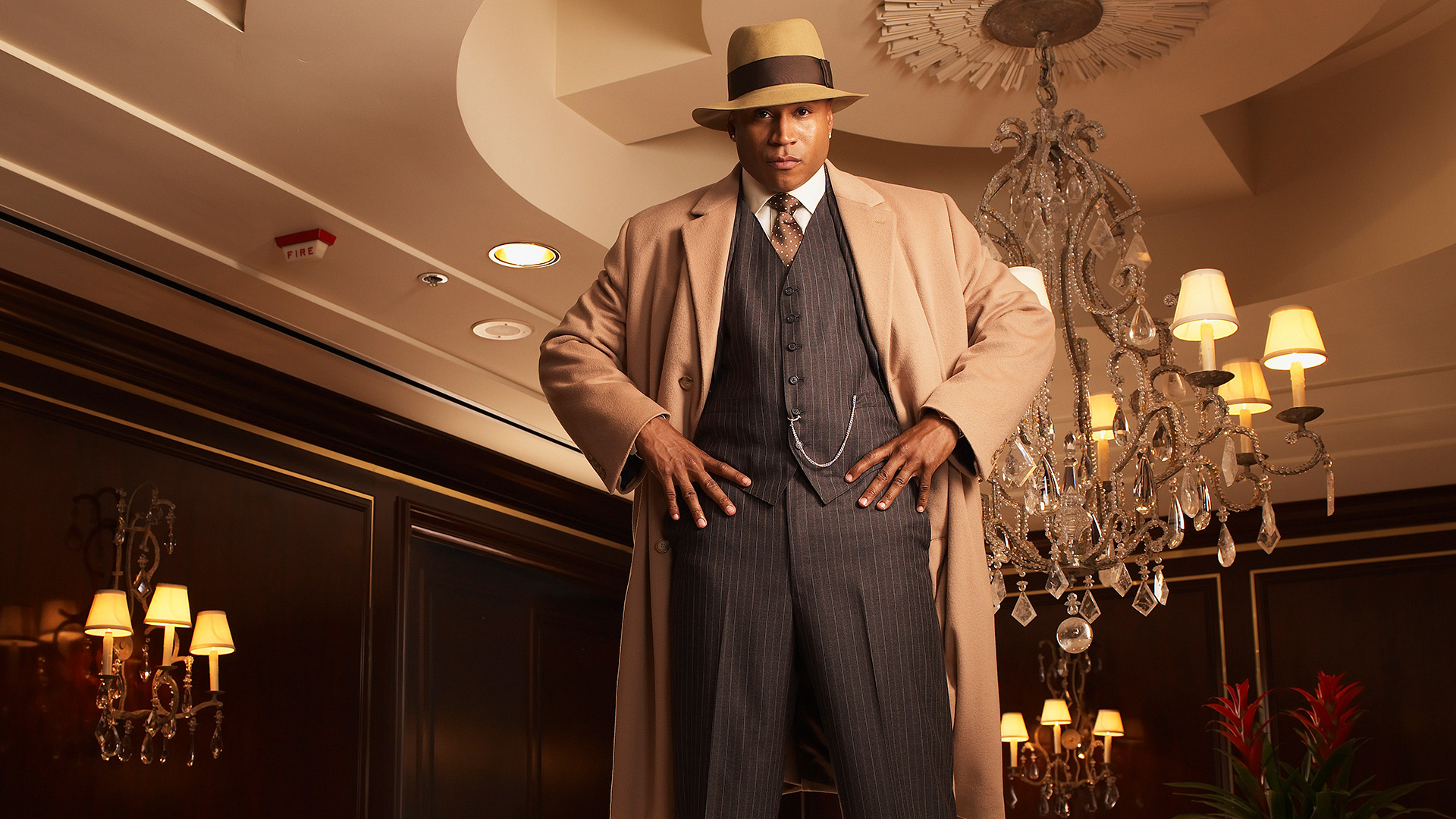 LL COOL J is right out of the roaring 20s