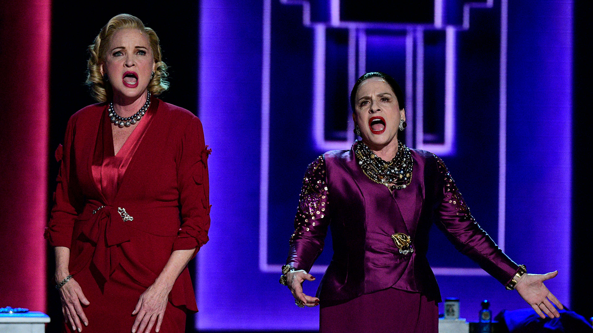 """Christine Ebersole and Patti LuPone perform """"Face to Face"""" from War Paint"""