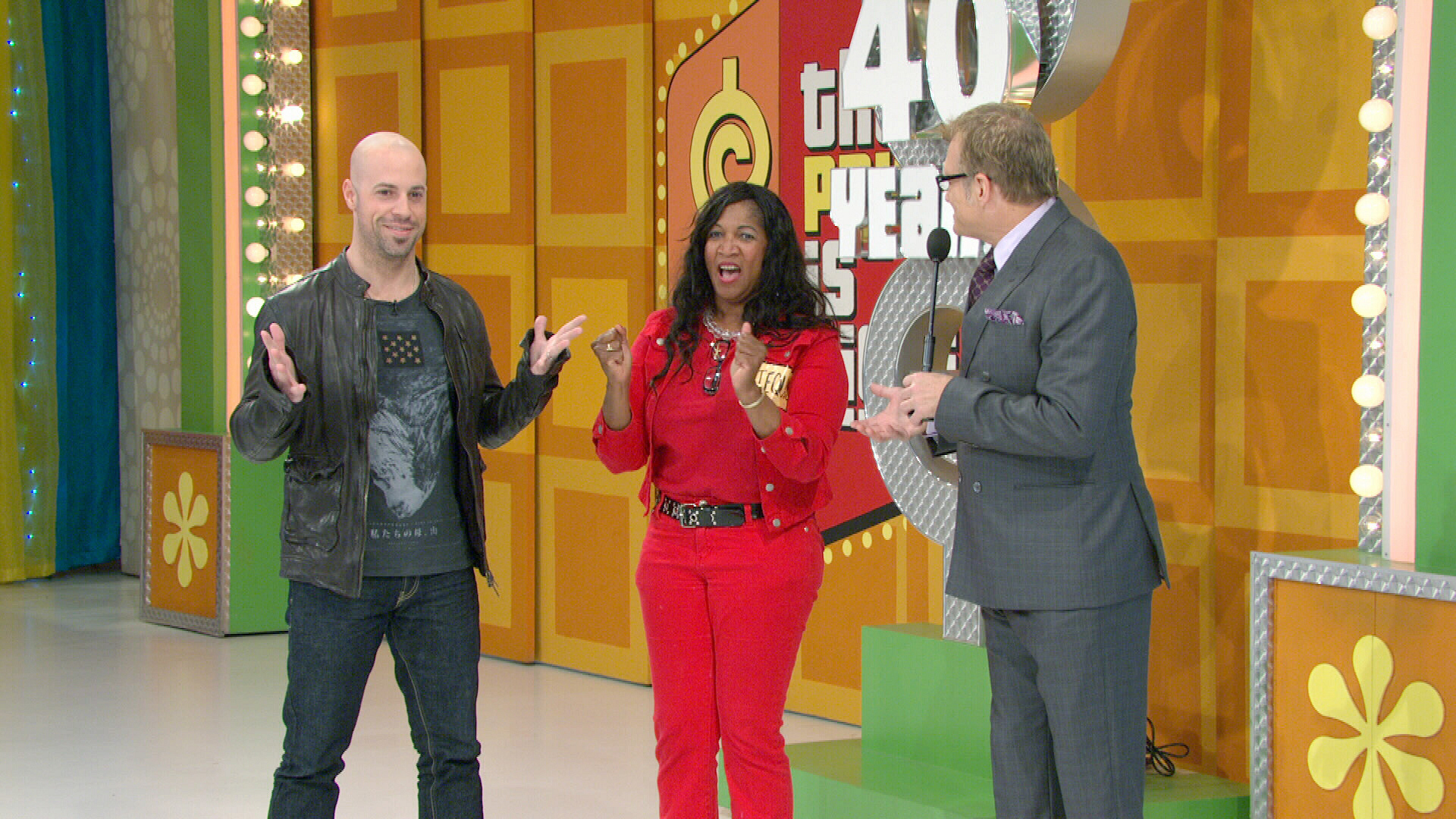 Chris Daughtry on the TPIR stage