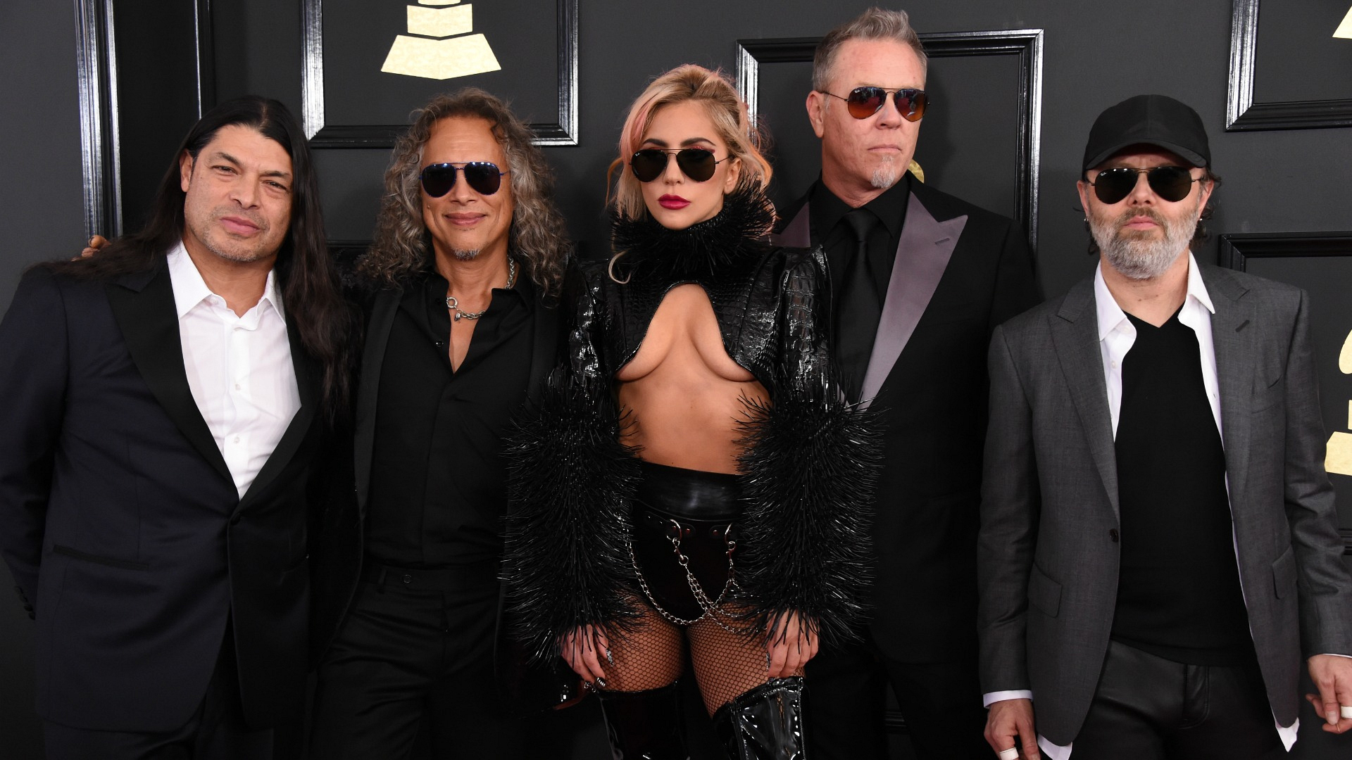 GRAMMYs 2017: Lady Gaga and Metallica