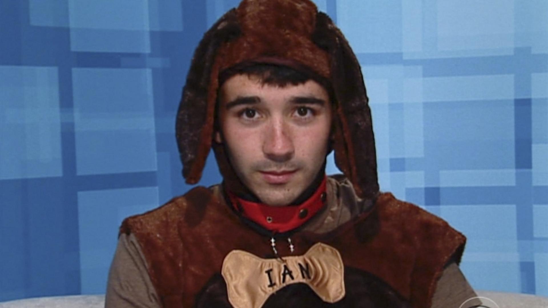 Ian Terry's dog costume