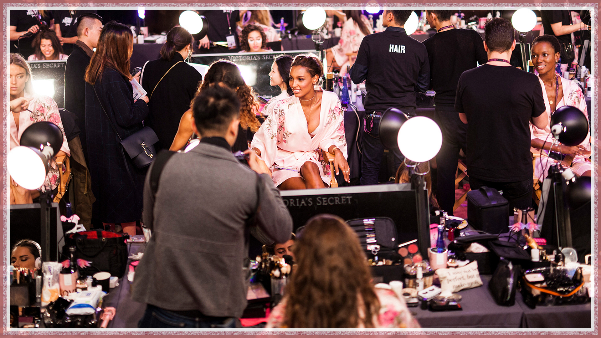 Let's go behind the scenes of the Victoria's Secret Fashion Show!