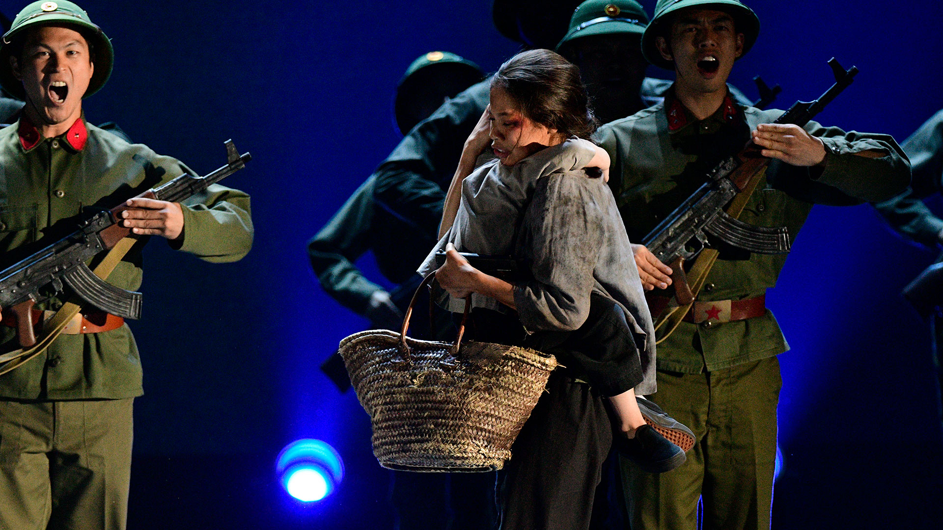 "The cast of Miss Saigon perform ""This Is The Hour"" And ""I'd Give My Life For You"""