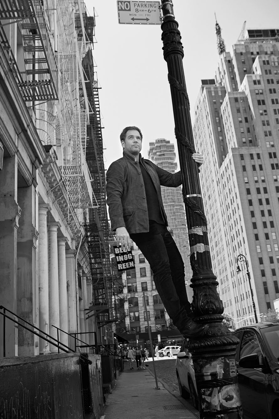 Michael Weatherly is in an Empire State of mind