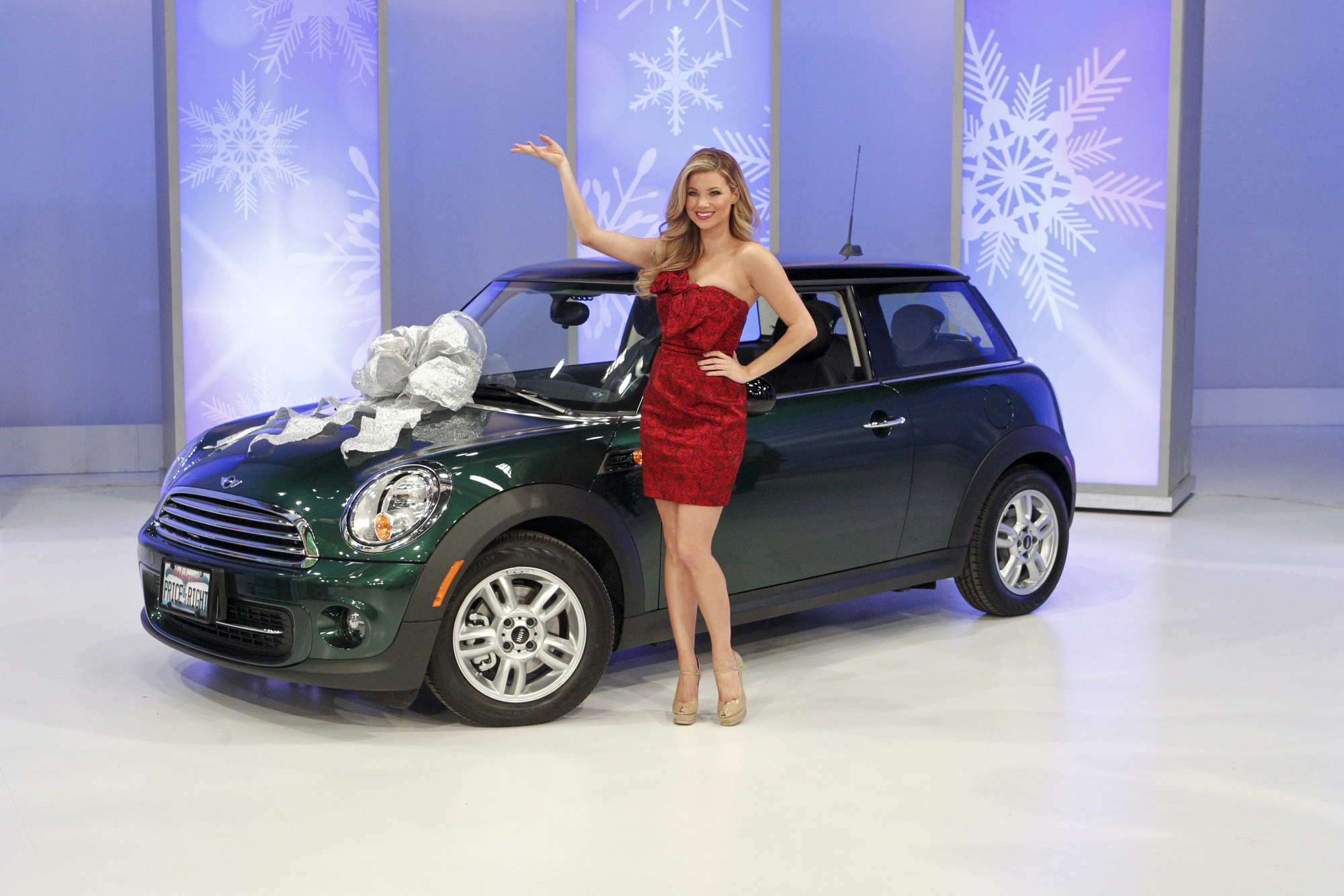 Amber with Mini Cooper