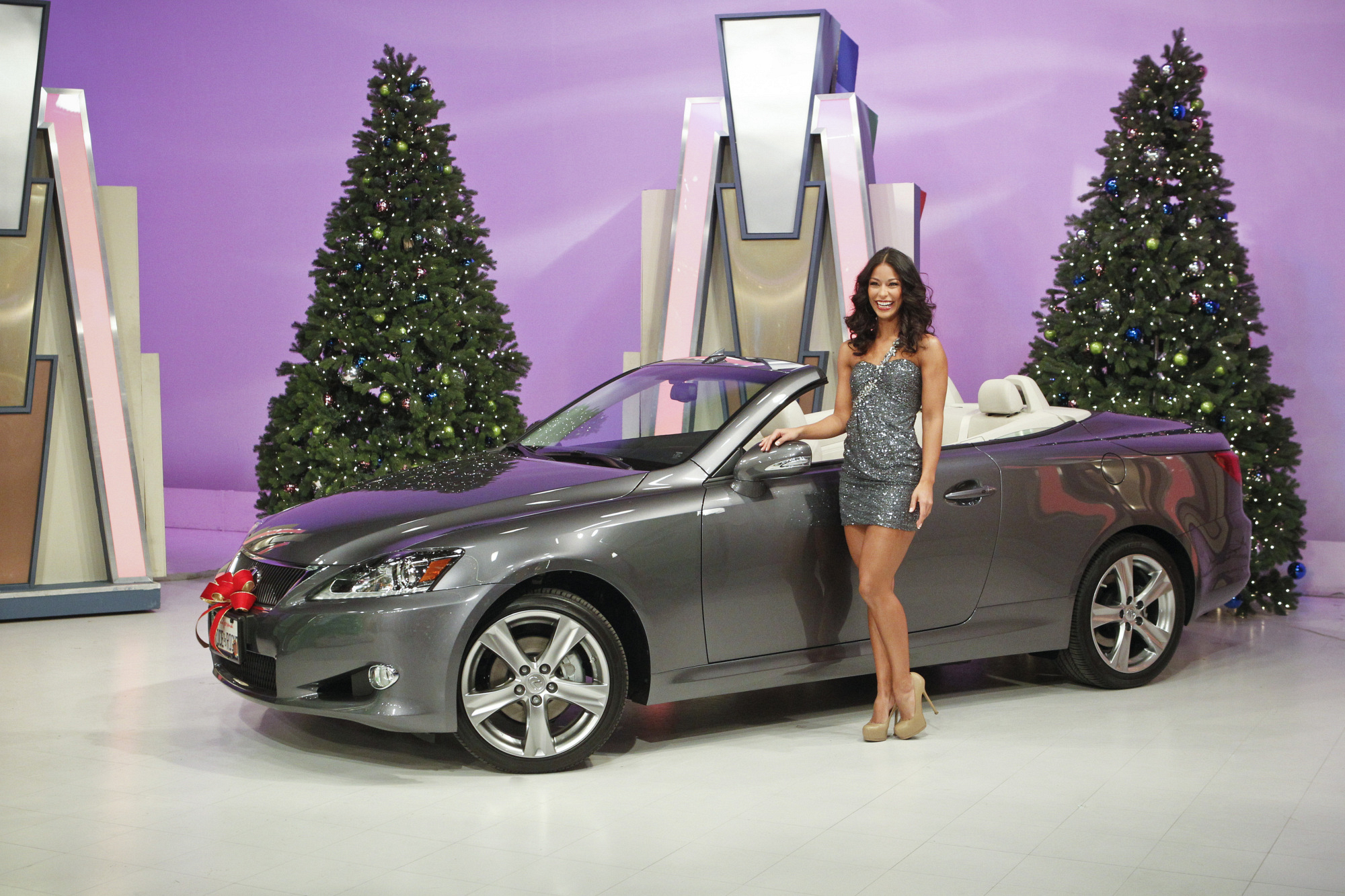 Manuela with Lexus