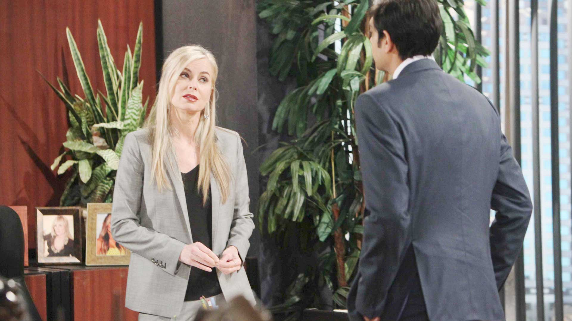 Ashley adopts a new strategy to deal with her family issues.