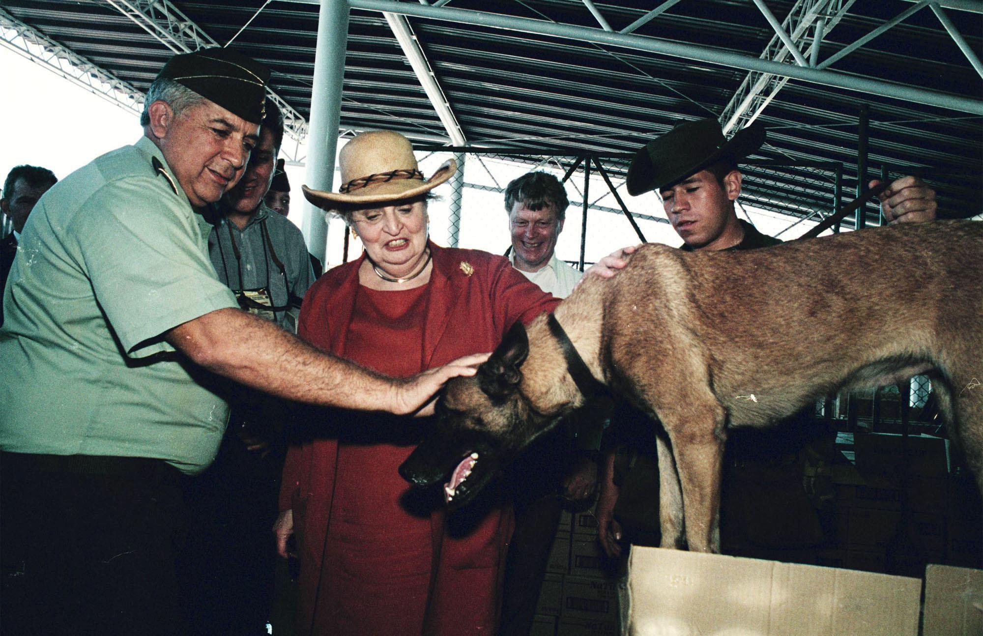4. An International Pet From Madeleine Alrbight