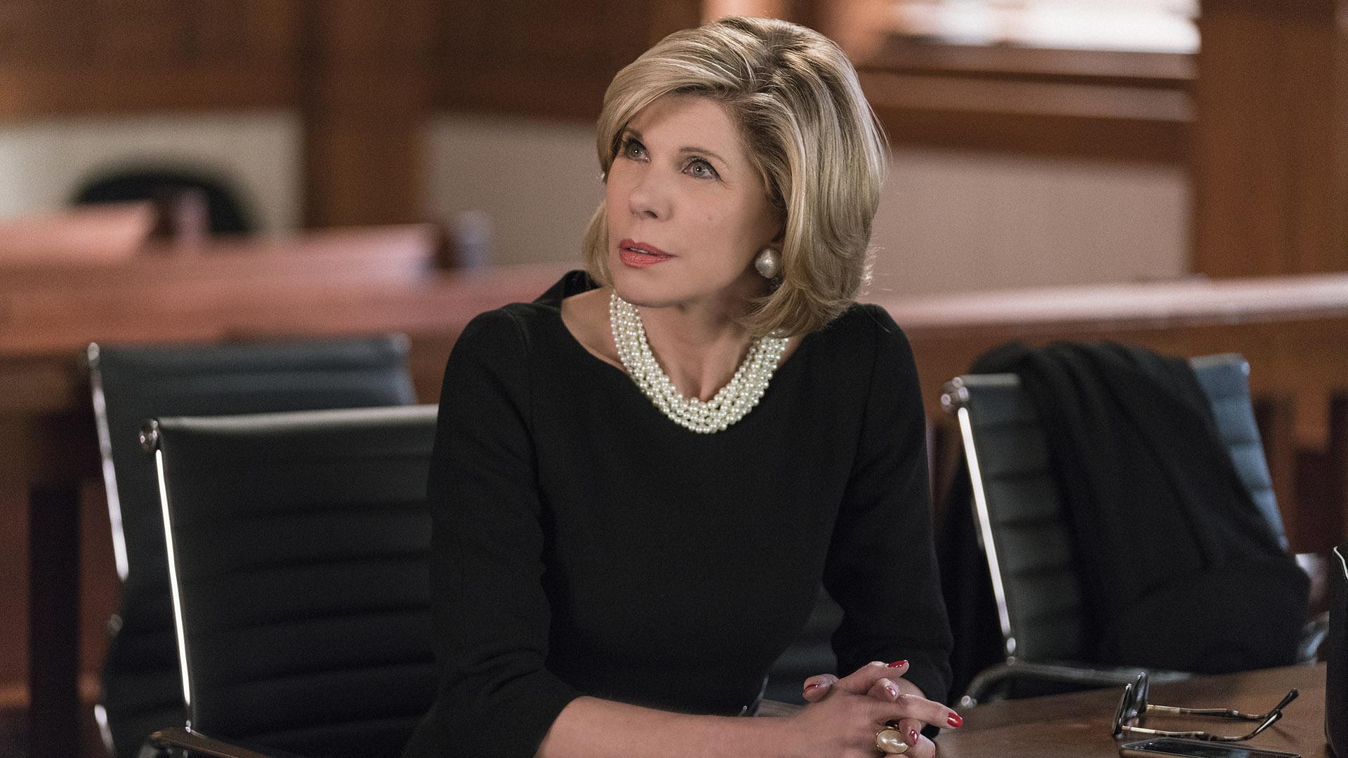 Diane Lockhart (Christine Baranski)