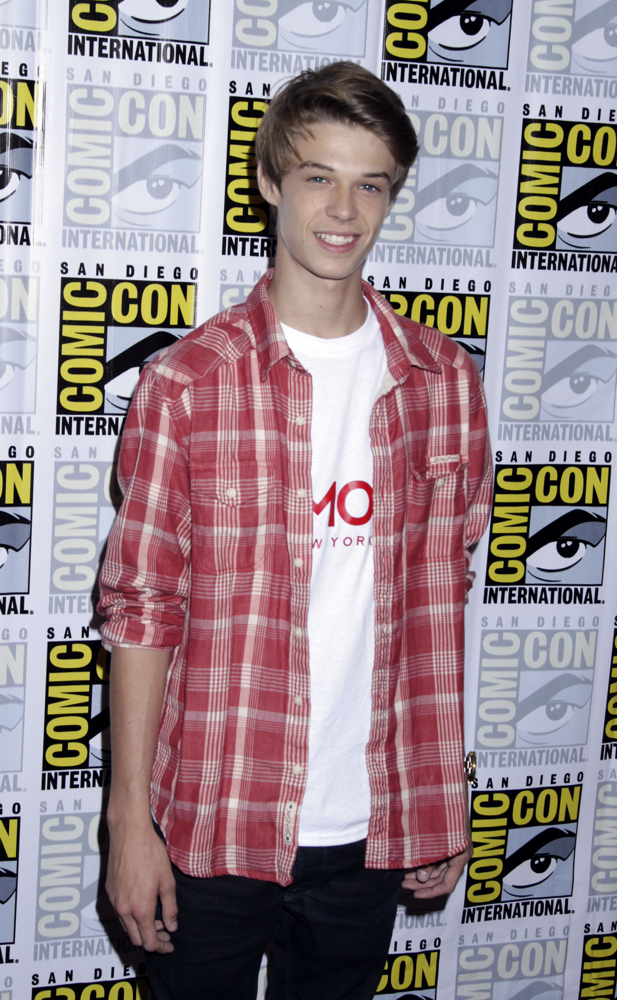 7. Colin Ford is an avid shoe collector.