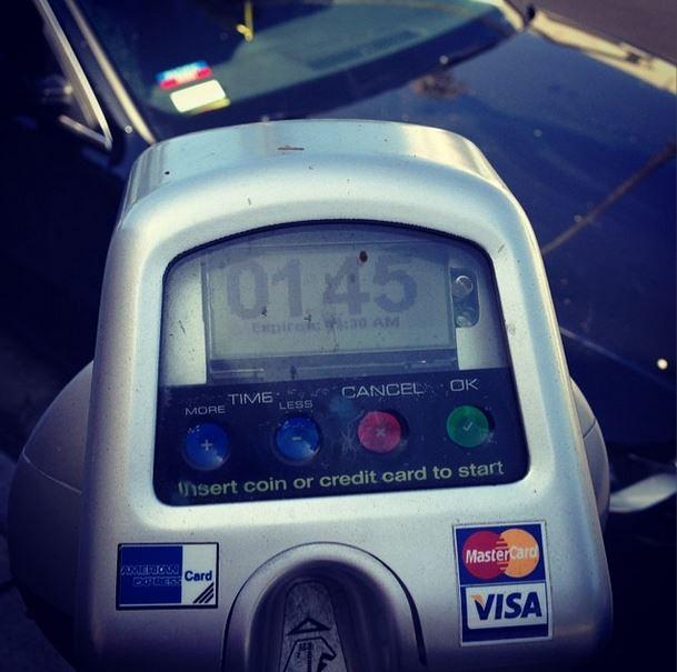 12. Hooray For Pre-Paid Parking Meters