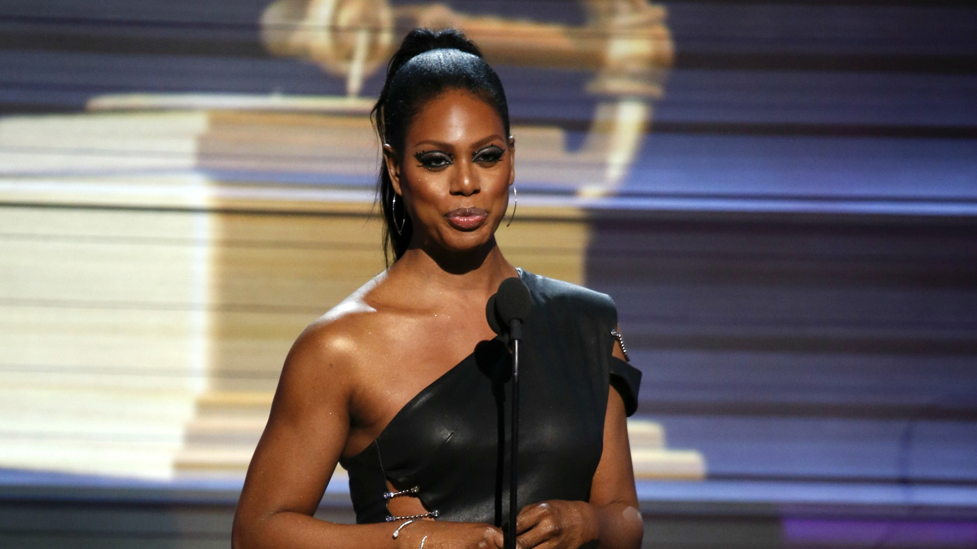 Laverne Cox, star of the new CBS drama Doubt, introduced Metallica and Lady Gaga to the GRAMMY stage.