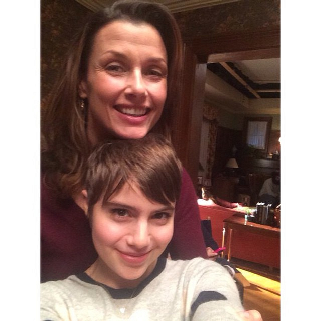 Blue Bloods Instagram: We're taking over! #Selfie time with my Momma! #reagangirls #loveyou