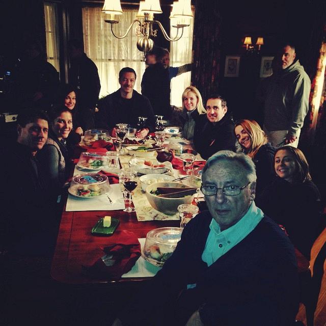Blue Bloods Instagram: Bridget: Wait! Those aren't the Reagans! #backgroundartists. Amy: The Other Reagans stand-ins set the light.