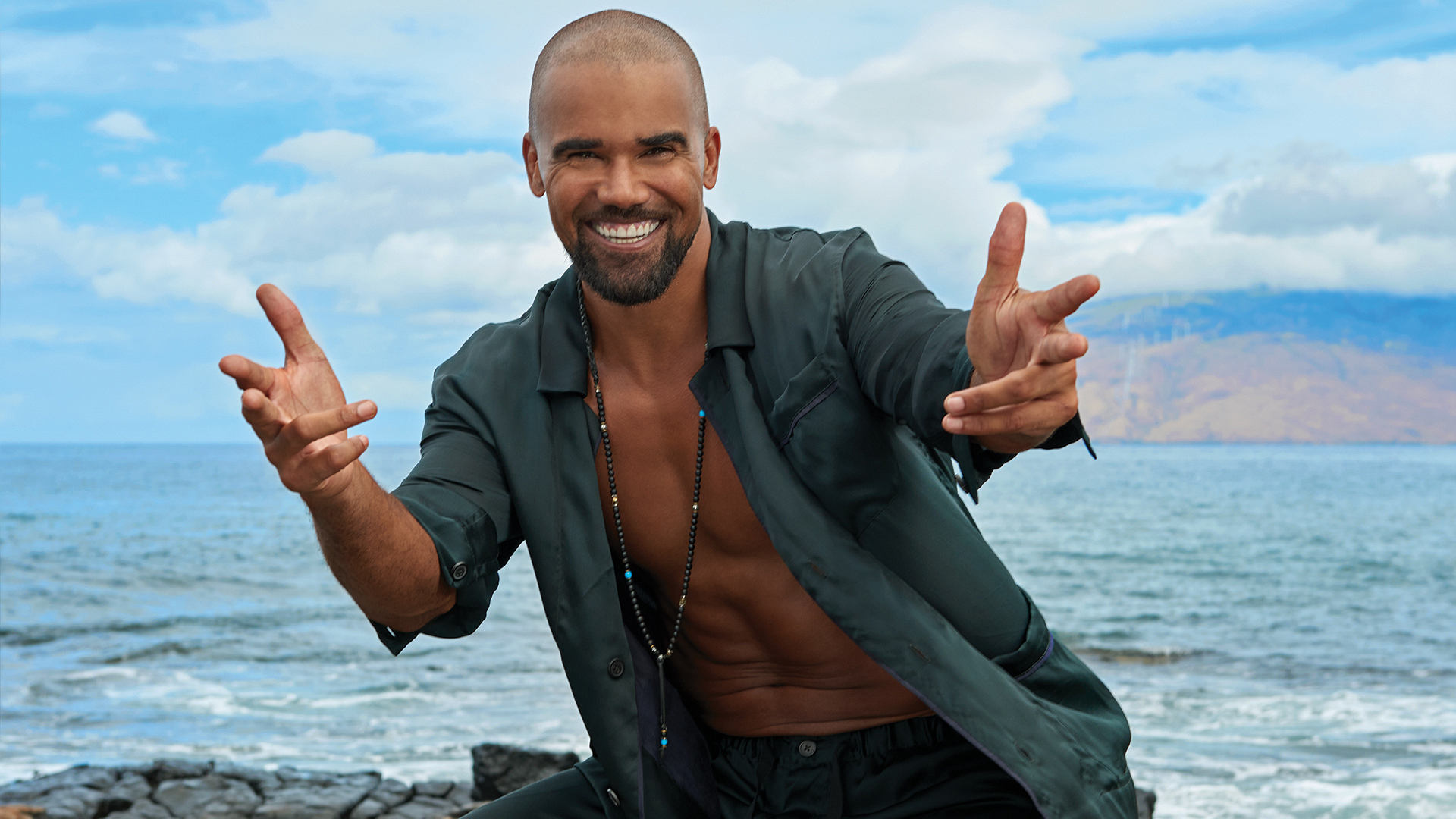 See why S.W.A.T. star Shemar Moore makes us S.W.O.O.N. in these exclusive, never-before-seen photos.