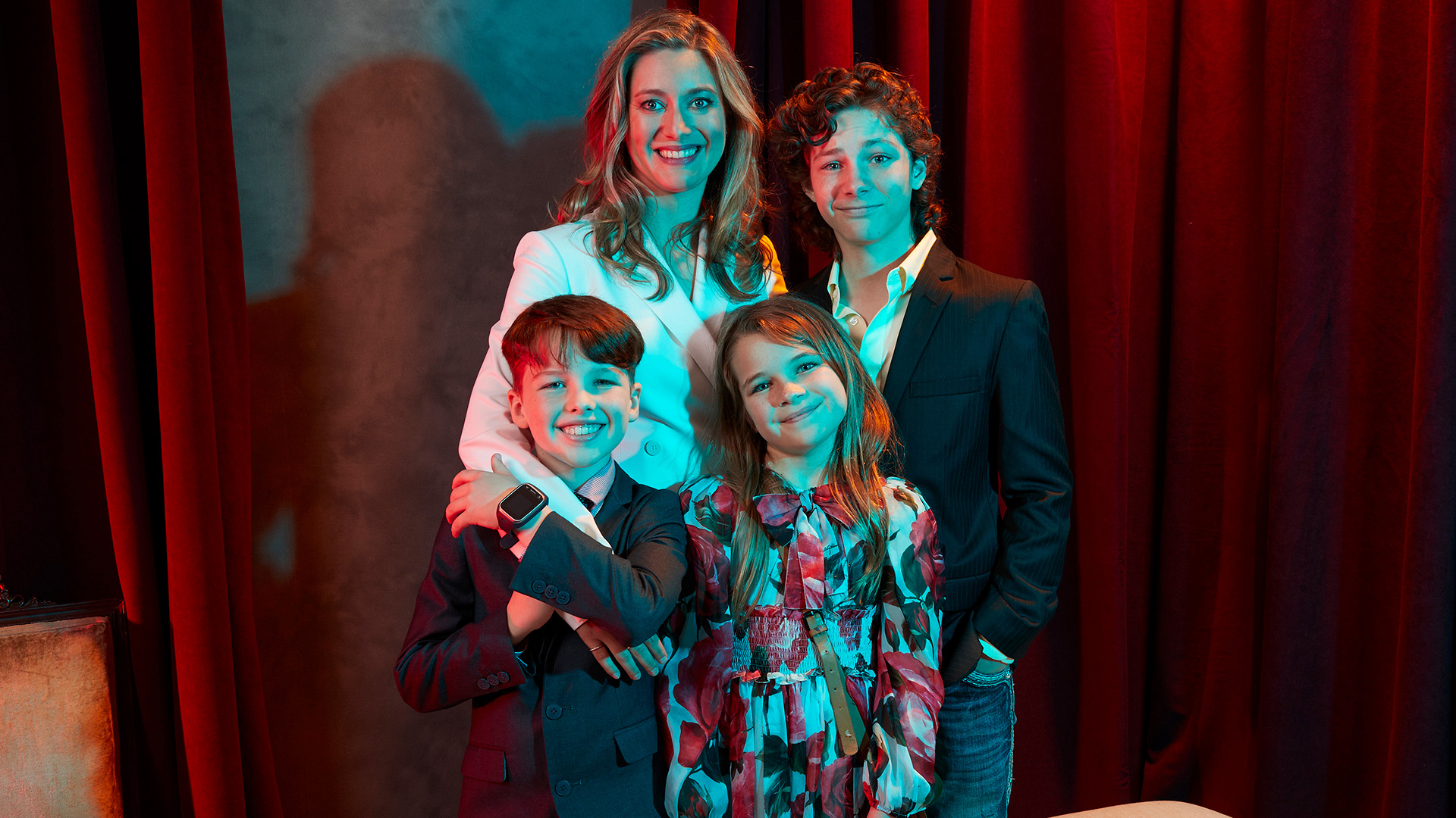 The cast of Young Sheldon couldn't be any cuter in these exclusive photos.