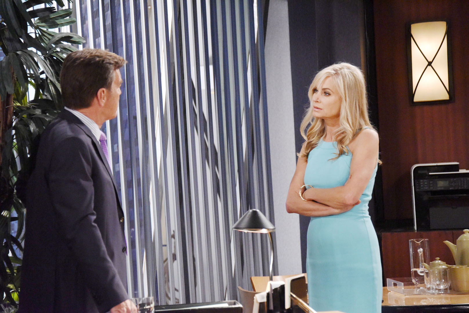 Ashley vows to protect Dina.
