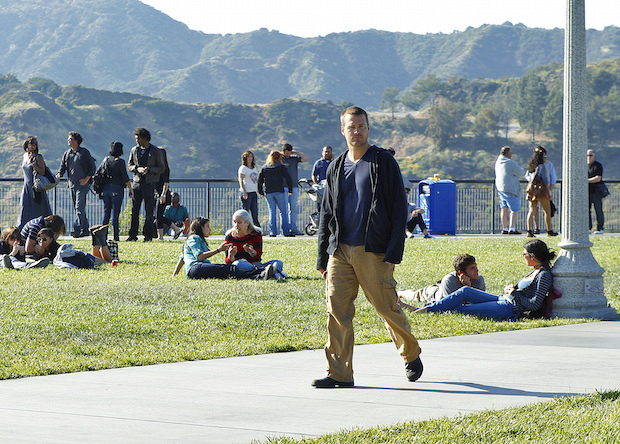 "Q: Who blows Callen's cover in the episode ""Burned""?"
