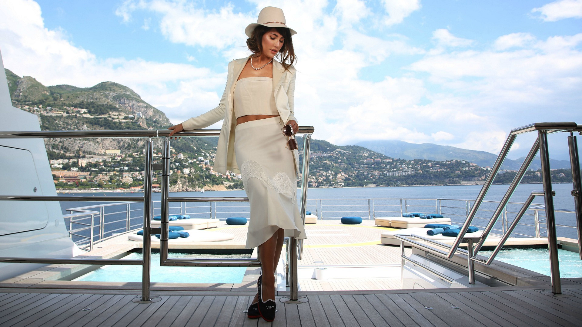 Photo shoot on #StellaMaris #MonteCarlo
