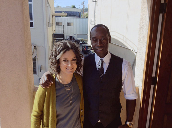 Don Cheadle Behind-the-Scenes