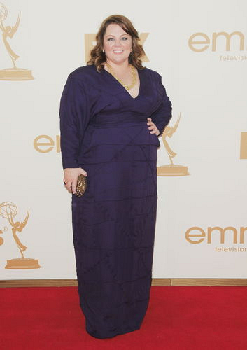 Melissa McCarthy Backstage at the 2011 Emmys