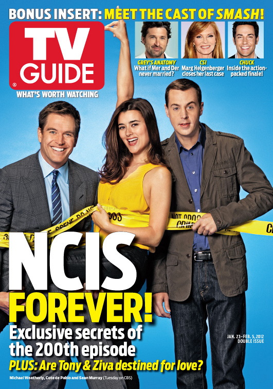 Michael Weatherly, Cote de Pablo & Sean Murray