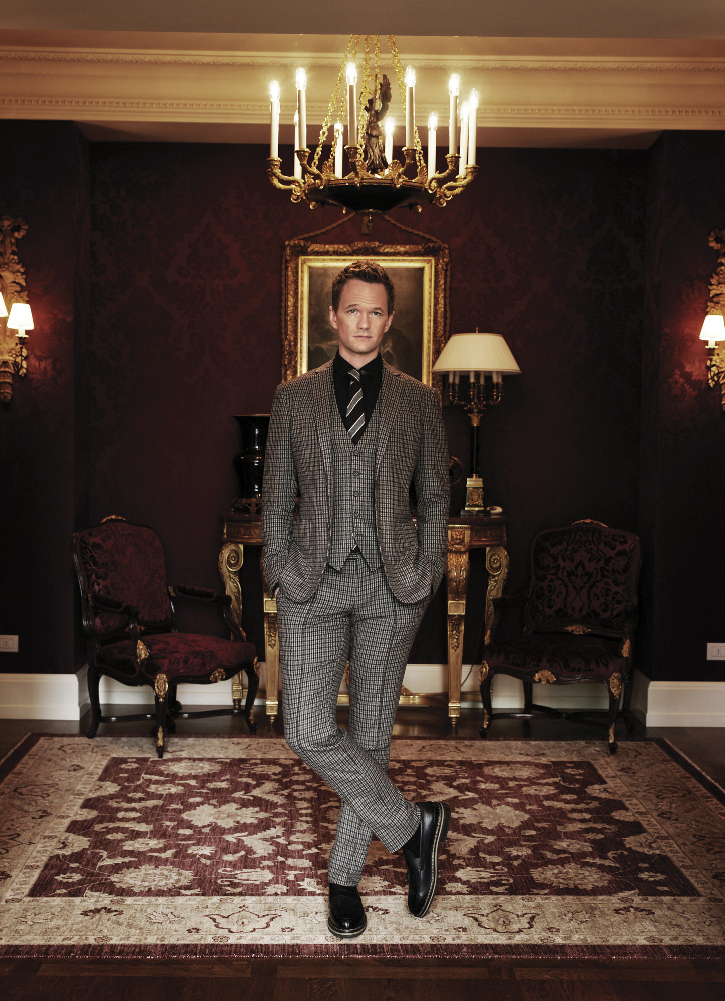 Neil Patrick Harris in the Presidential Suite