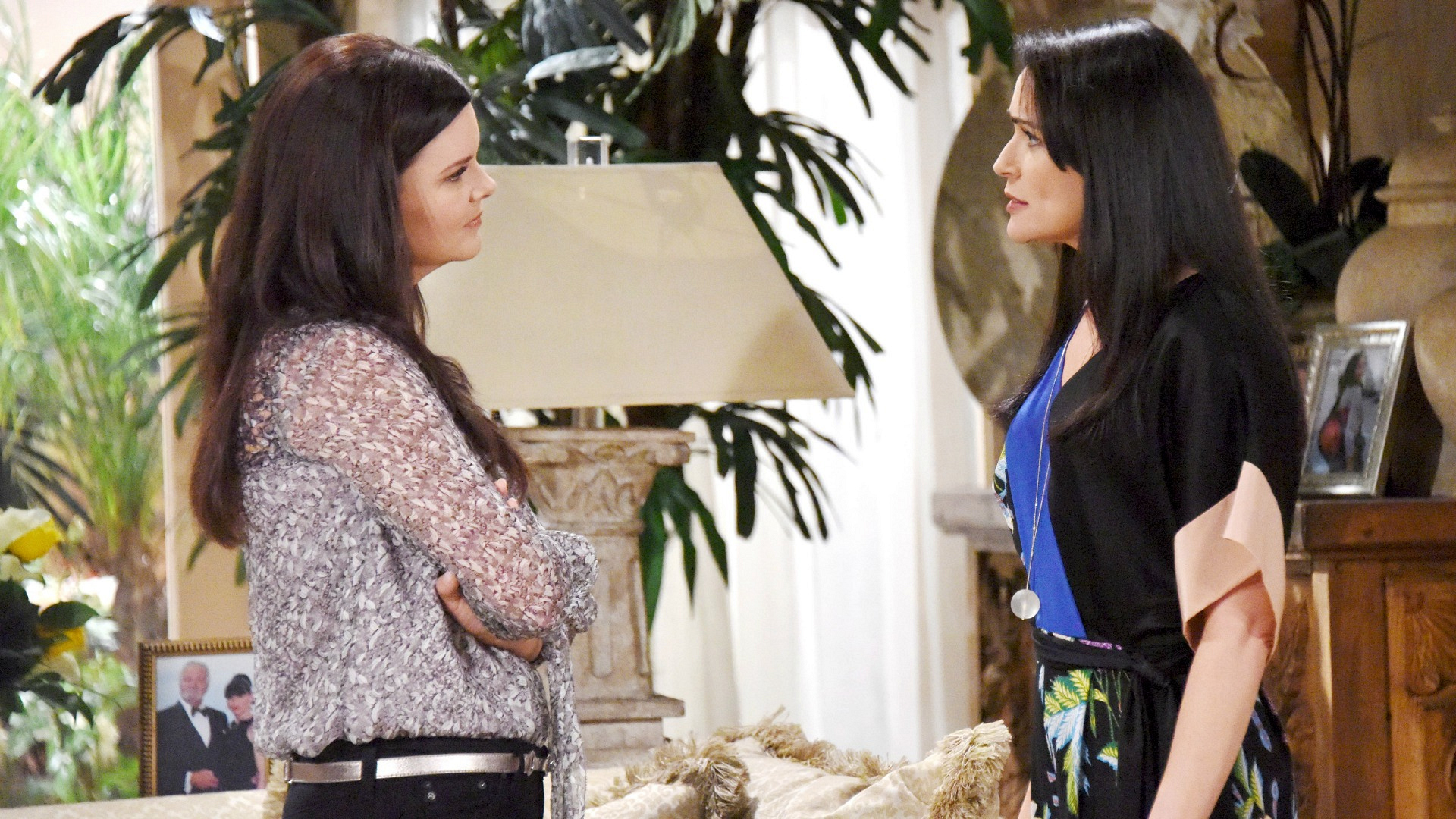 Katie enjoys torturing Quinn with holding the information which could destroy her marriage to Eric.